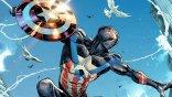 蜘蛛人化身美隊!邁爾斯摩拉斯在最新一期漫畫封面以「美國隊長」姿態現身