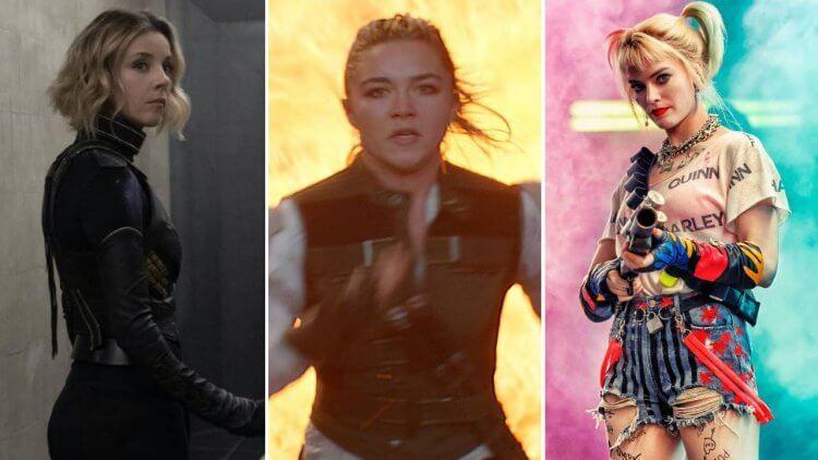 從《猛禽小隊》《黑寡婦》到《洛基》,來看近年漫改電影中「女英雄」的服裝變革首圖