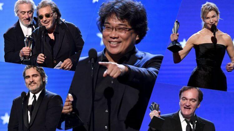 為什麼今年的評論家選擇電影獎得獎名單,好像爆雷了今年的奧斯卡得獎名單?首圖