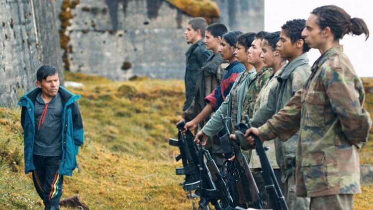 阿雷漢卓蘭迪斯導演作品,電影《失控少年兵團》劇照。