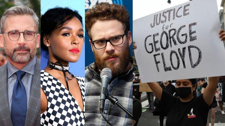 「佛洛伊德之死」引眾怒!史提夫卡爾、賈奈兒夢內以及賽斯羅根等好萊塢名人站出來為明尼蘇達抗議行動發聲首圖