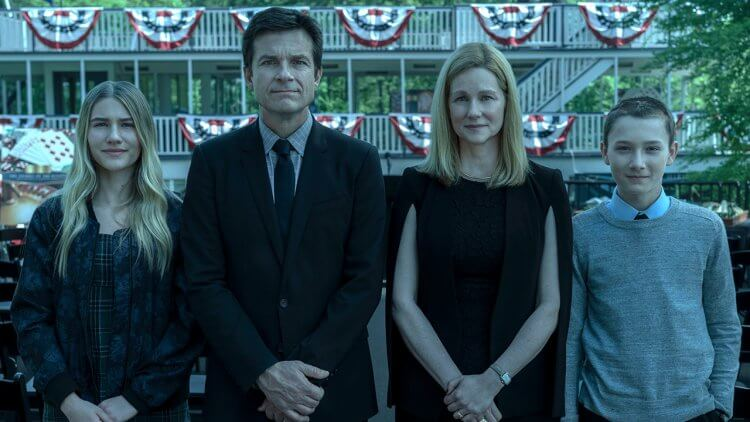 Netflix 影集《黑錢勝地》劇照。