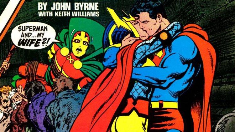 修但幾勒!DC 漫畫正史竟曾讓超人與女戰士拍 A 片?首圖