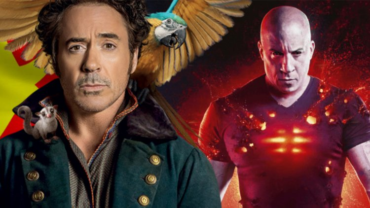 中國電影院逐步解封!好萊塢電影《杜立德》、《血衛》位居解封首週末票房排行榜前二名首圖