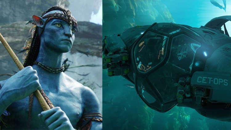 納美人將面臨人類全新威脅?詹姆斯卡麥隆《阿凡達 2》未知水下載具美術概念圖釋出首圖