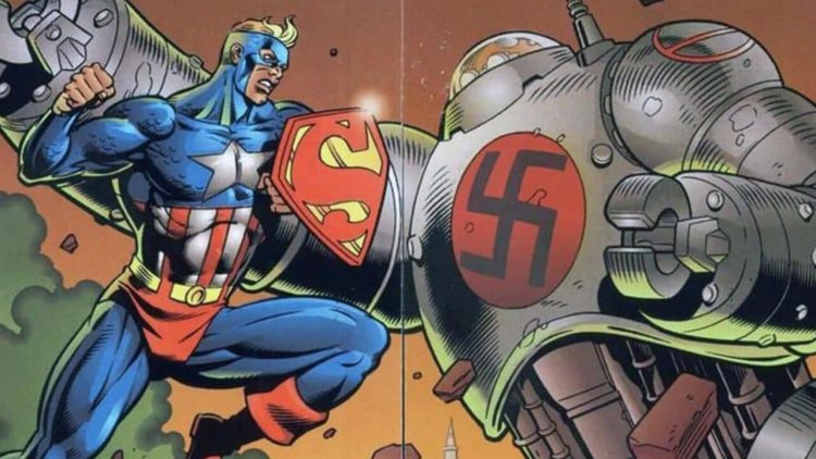DC 與漫威合作之產物!超人與美國隊長的混合體「超級戰士」介紹首圖