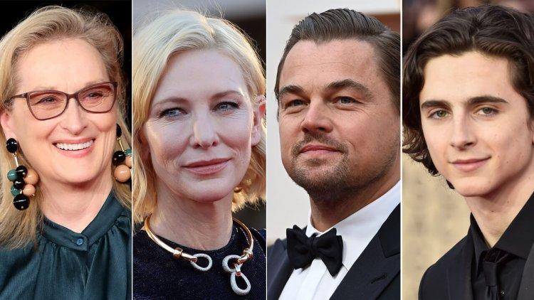我有看錯嗎?亞當麥凱執導 Netflix 喜劇電影《Don't Look Up》,找來李奧納多、梅莉史翠普、凱特布蘭琪等大咖與珍妮佛勞倫斯同台首圖