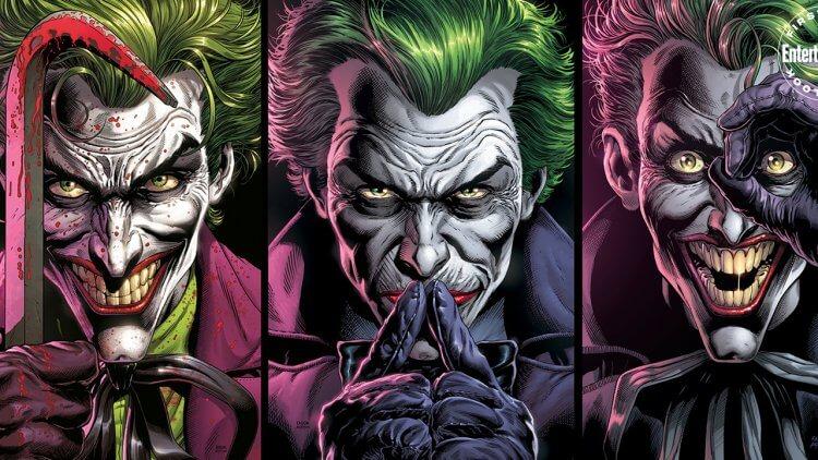 DC漫畫《蝙蝠俠:三個小丑》解密:「蝙蝠俠」與「小丑們」的共生,各有特色的「小丑」由來與謎團首圖