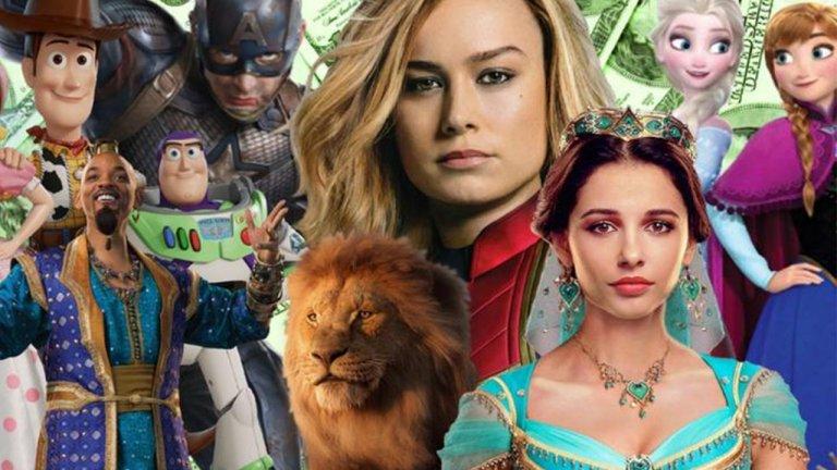 錢一直來,迪士尼發大財!2019 迪士尼電影總票房已經超越 100 億美金