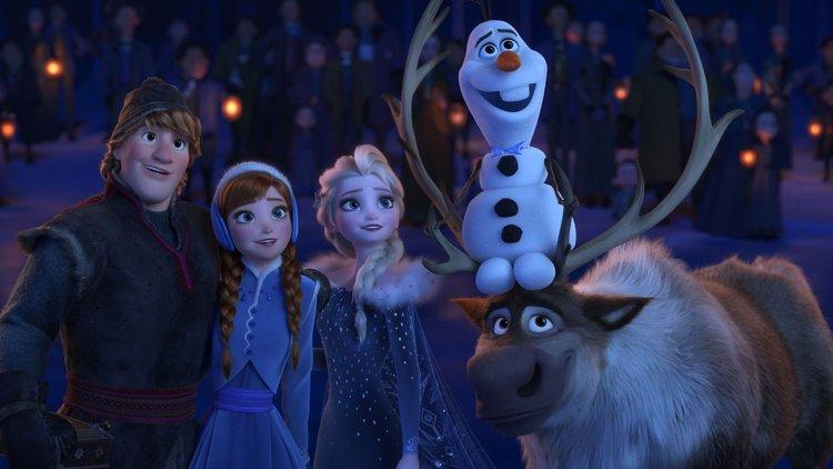 看完別急著走!《冰雪奇緣2》片尾片段與電影內容相呼應,甚至出現萌萌的神秘嘉賓首圖