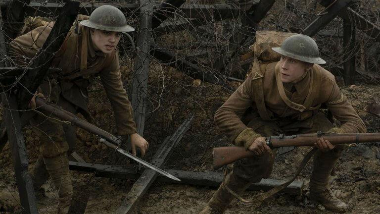 奧斯卡黑馬領跑者來了!戰爭電影《1917》外媒首波評價出爐:「電影技術的一大成就,無法將目光從畫面移開!」