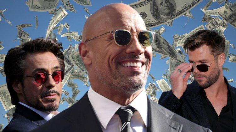 2019 年好萊塢十大最高薪天王名單出爐:這位巨石般硬漢的薪水條,完全輾壓漫威電影宇宙眾生首圖