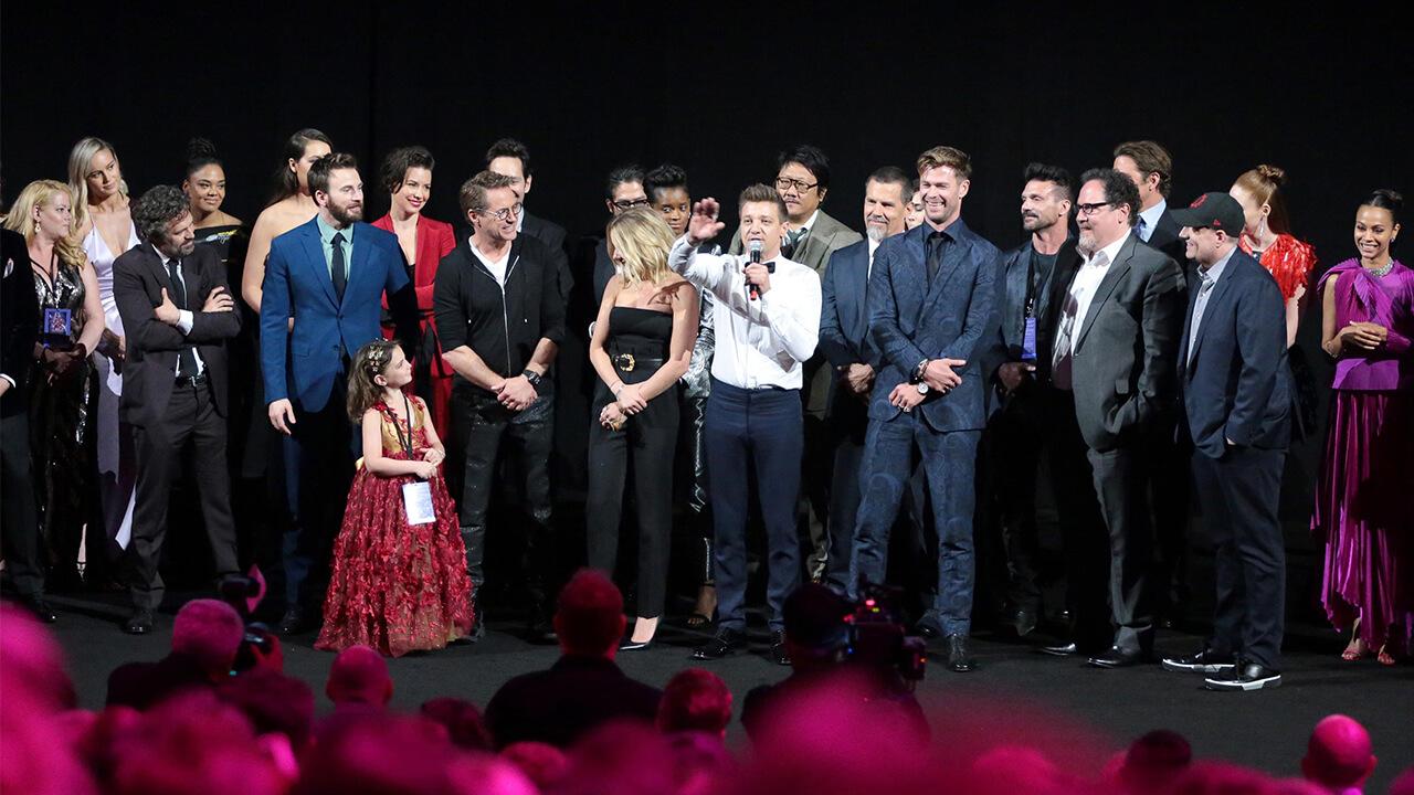 《復仇者聯盟 4:終局之戰》首映結束,初代復仇者聯盟成員感性表示:「是漫威改變了我們。」首圖