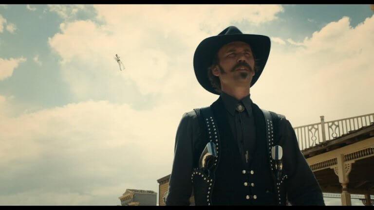 《西部老巴的故事》以〈When A Cowboy Trades His Spurs For Wings〉入圍第 91 屆奧斯卡「最佳原創歌曲」獎。