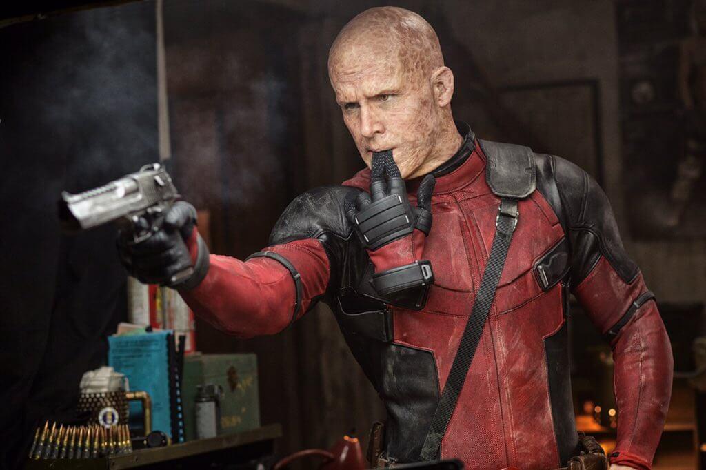 由影星:萊恩雷諾斯所主演的限制級超級英雄電影《死侍》。