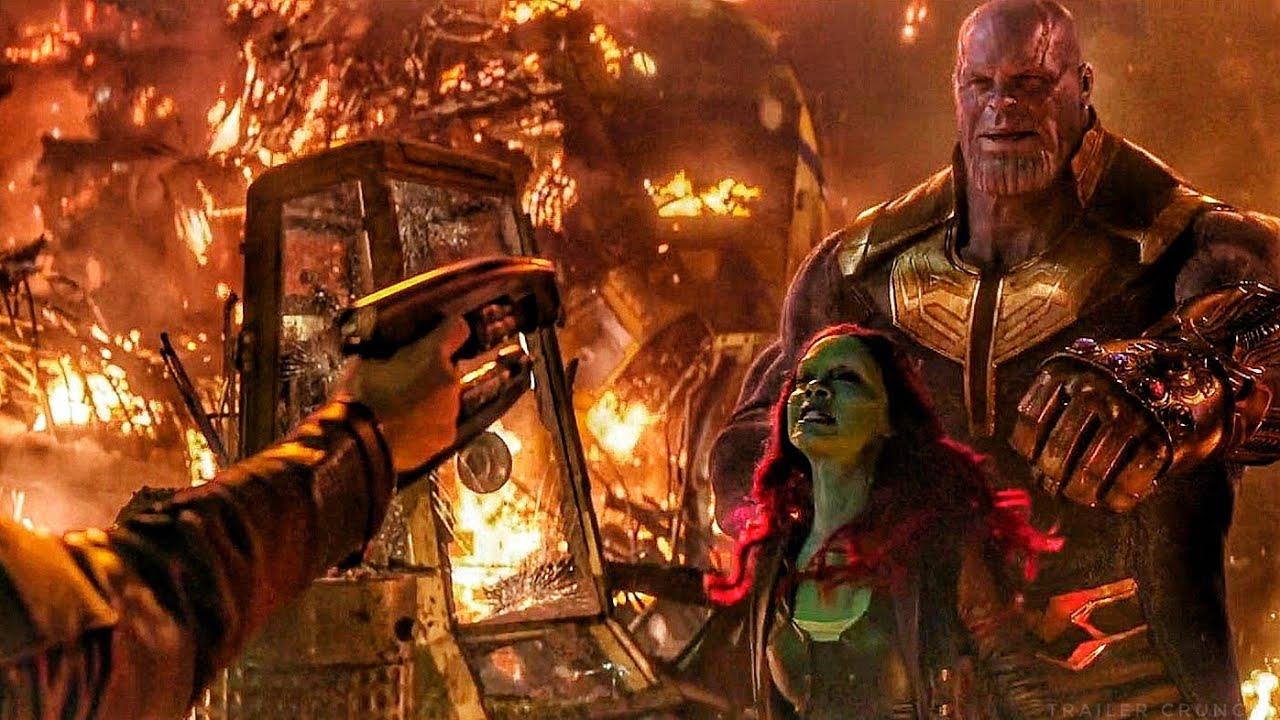 《復仇者聯盟:無限之戰》中,《星際異攻隊》的星爵面臨心愛的葛摩拉與反方大魔王薩諾斯的情感拉扯。