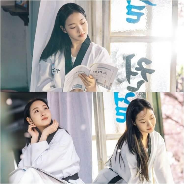 金高銀在《The King:永遠的君主》的角色分別為大韓民國的刑警與大韓帝國的女囚。