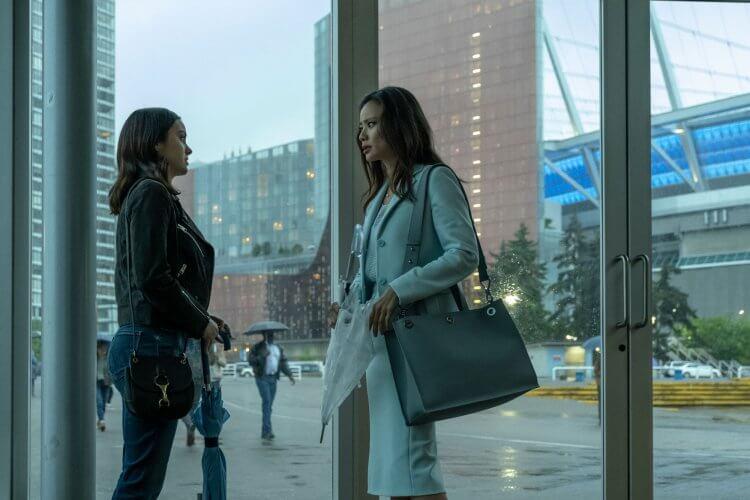 Netflix 驚悚電影《危險謊言》鍾潔咪。
