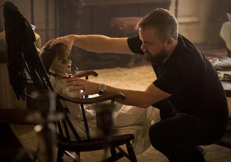 大衛 F 桑德柏格拍攝《安娜貝爾:造孽》。