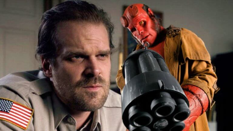 《地獄怪客:血后的崛起》(Hellboy: Rise of the Blood Queen) 由大衛哈伯 (David Harbour) 主演。