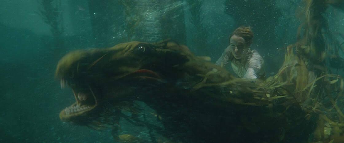 《怪獸與葛林戴華德的罪行》中,紐特所照顧的水怪 (Kelpie) 。