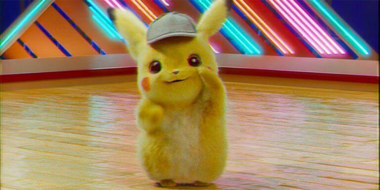 《名偵探皮卡丘》(Detective Pikachu) 跳舞宣傳影片。
