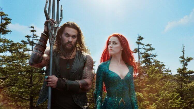 《水行俠》(Aquaman) 傑森摩莫亞 (Jason Momoa)、安柏赫德 (Amber Heard)