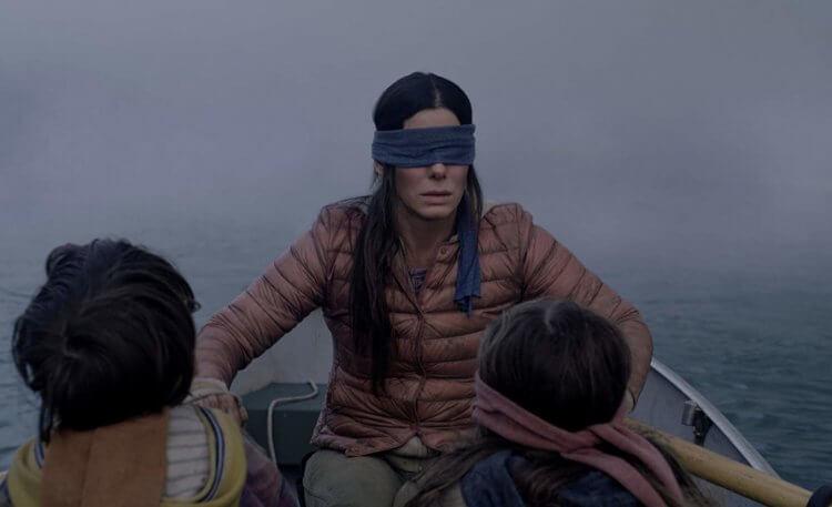 珊卓布拉克主演的 2018 年 Netflix 原創電影《蒙上你的眼》。