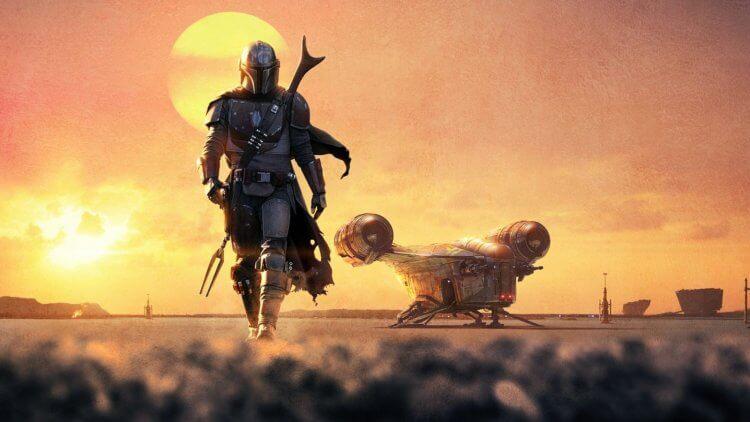 《曼達洛人》(The Mandalorian) 劇照。