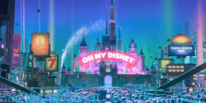 《 無敵破壞王2 : 網路大暴走 》預告彩蛋 一起進入 「OH MY DISNEY」世界吧!