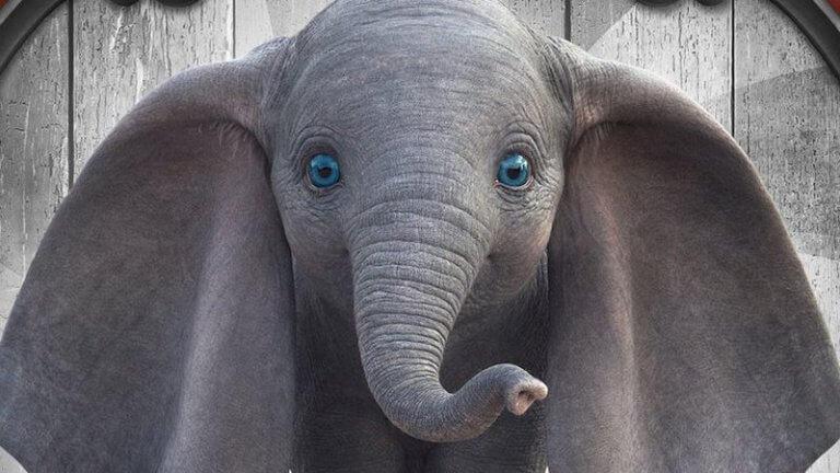 改編自迪士尼奇幻經典動畫電影的 2019 年電影《小飛象》真人版劇照。