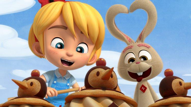 《愛麗絲與路易兔》動畫劇照。