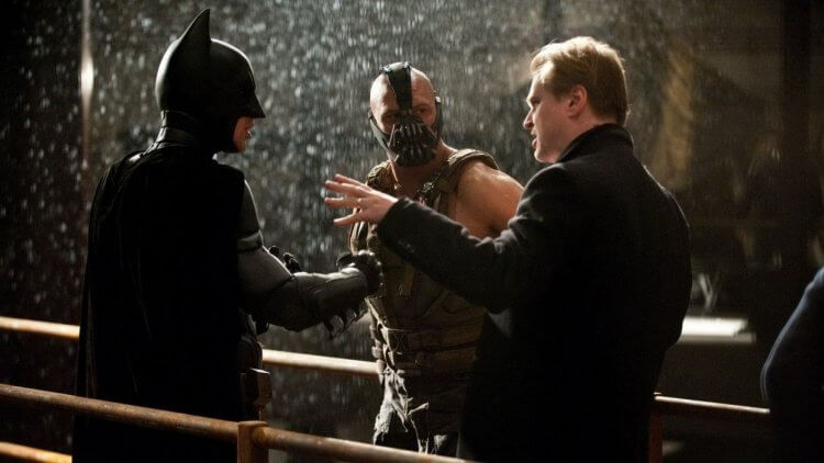《黑暗騎士:黎明昇起》(The Dark Knight Rises) 側拍
