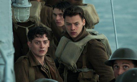 《敦克爾克大行動》(Dunkirk) 劇照。