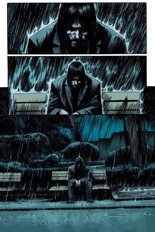 由基努李維發想的漫畫《狂戰士》。