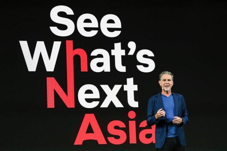Netflix 將推更多亞洲原創影視作品,積極爭取亞洲用戶,擴大市場。