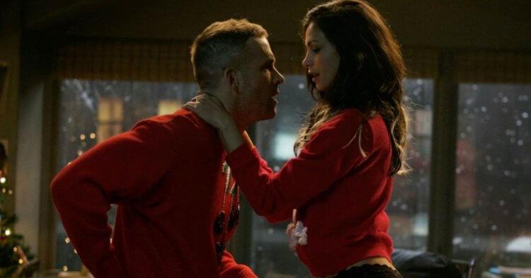 《死侍 2》(Deadpool 2) 萊恩雷諾斯 (Ryan reynolds) 與莫蓮娜芭卡琳 (Morena Baccarin)