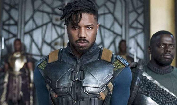 2018 年慢威工作室推出的超級英雄電影《黑豹》,麥可 B 喬丹飾演的反派:齊爾蒙格。