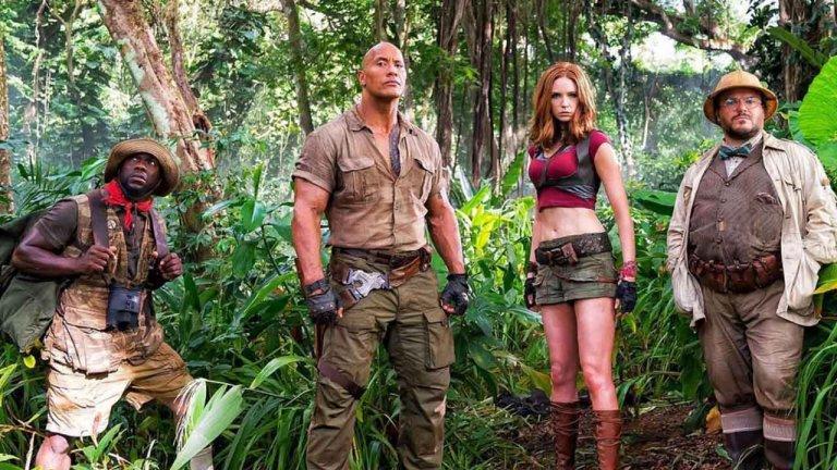 《野蠻遊戲:瘋狂叢林》成為索尼影業北美最賣座電影   巨石強森宣布續集計畫