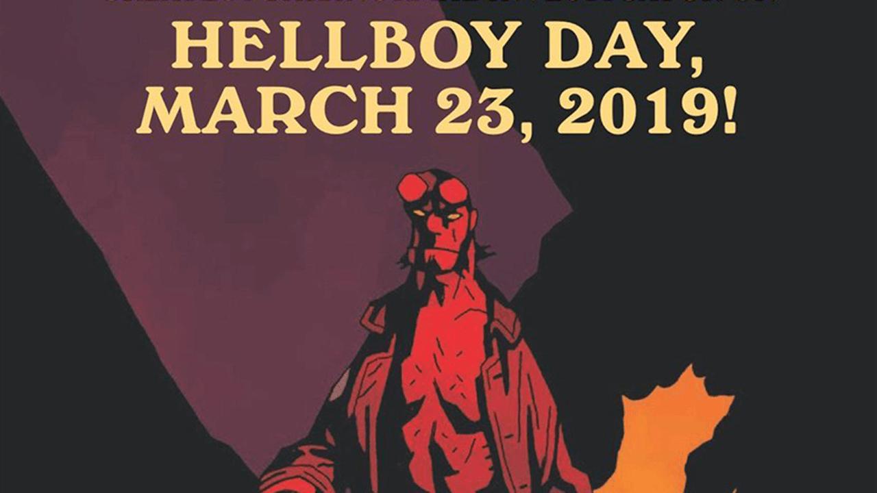 2019年3月將首度舉辦「地獄怪客日」  慶祝紅兒Hellboy誕生 25 週年!首圖