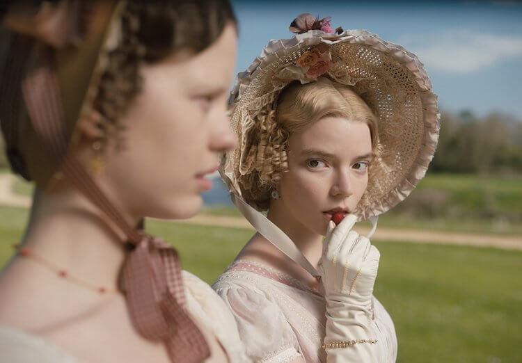 安雅泰勒喬伊主演電影《艾瑪.》可於 HBO GO 線上看片。