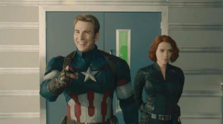 《復仇者聯盟 2:奧創紀元》(Avengers: Age of Ultron) 中的美國隊長