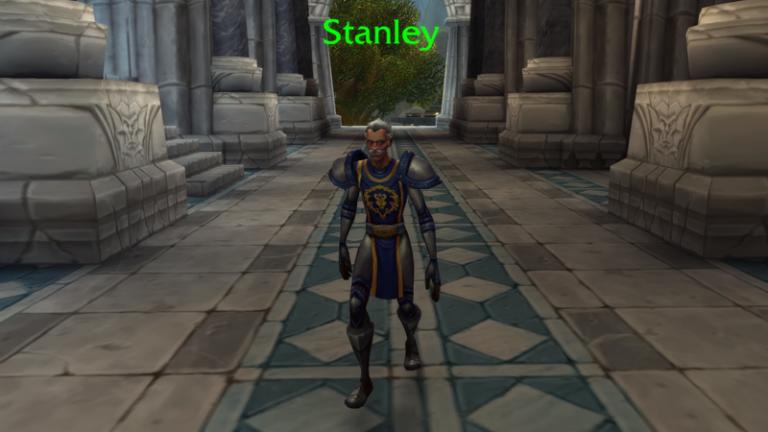 漫威之父史丹李 (Stan Lee)出現在魔獸世界