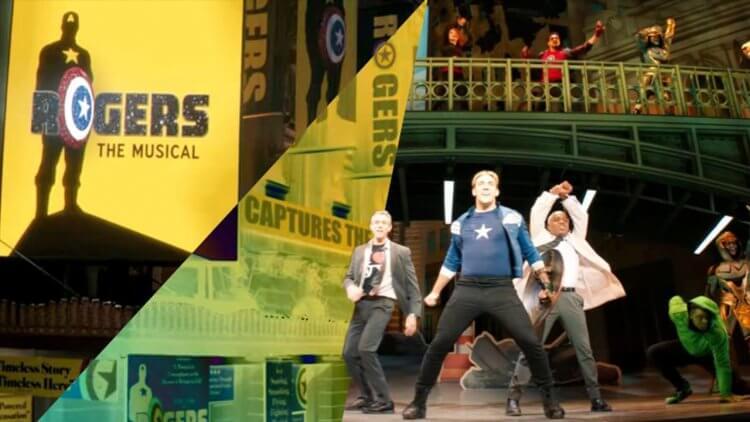 《鷹眼》預告驚喜場面:克林特偕家人觀賞百老匯「美國隊長」音樂劇,復仇者成員齊登場首圖