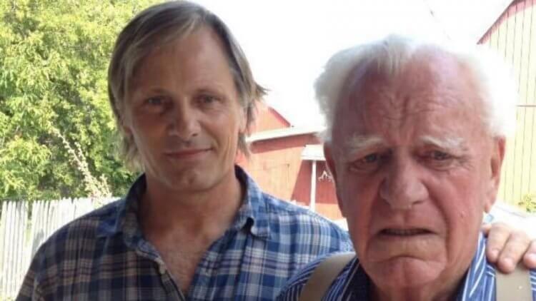 莫天森與父親