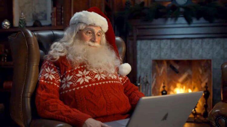 史提夫卡爾飾演的聖誕老人。