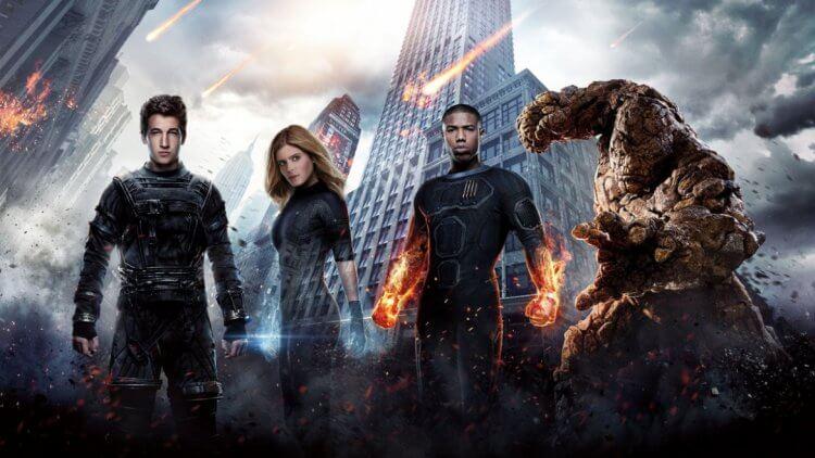 2015年《驚奇4超人》宣傳照。