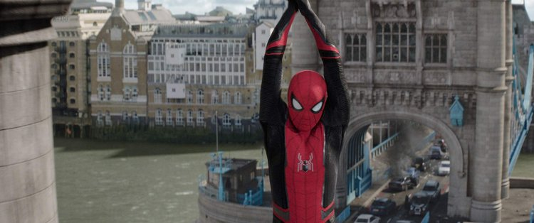《蜘蛛人:離家日》(Spider-Man: Far From Home) 劇照。