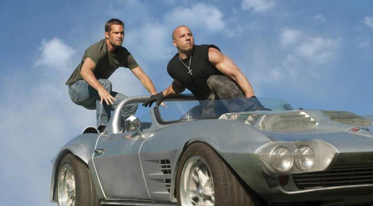 《玩命關頭》(Fast and Furious) 系列劇照。