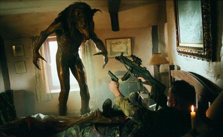 《閃靈戰士》電影劇照。